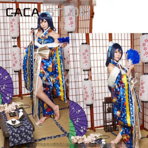 Tojo Eli Ayase Kimono Nishikino Maki Awakening Cosplay Gorgeous Dress Love Live