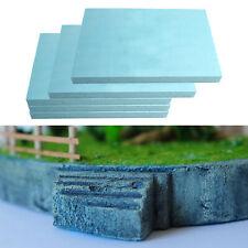 15pcs set dalle de mousse haute densité 295x100x50mm matériau de modèle de