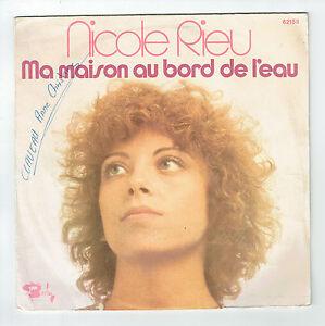 Nicole-RIEU-Vinilo-45T-7-034-MA-MAISON-AL-BORDE-EL-AGUA-BARCLAY-62156-F-Reduce-RARO