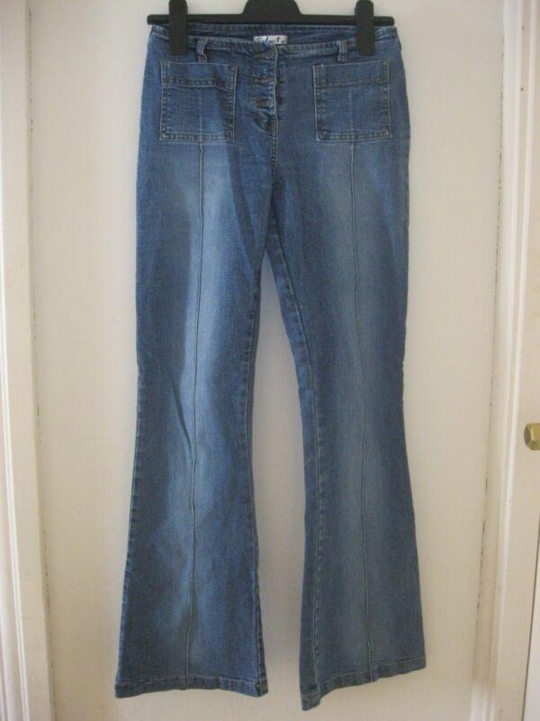 By alina señora rock imitación cuero High-waist mini falda de cuero tachuelas look rock XS-M