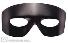 Faux Leather CABALLERO Maschera Occhi Occhi Maschera Zorro HALLOWEEN FANCY DRESS