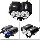 SolarStorm 5000Lm 2x CREE XM-L U2 LED Head Bicycle Bike Light HeadLight 6x 18650