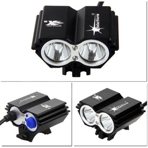 XM-L U2 6000Lm Brightness LED Head Front Bicycle Bike HeadLight Battery Pack Kit