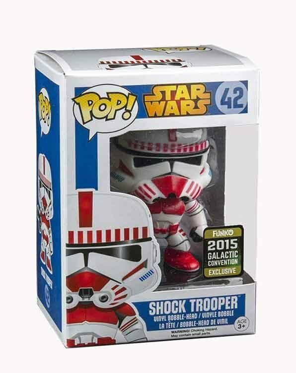Star Wars POP  Vinyl Shock Trooper Convention Special Figure factory fresh