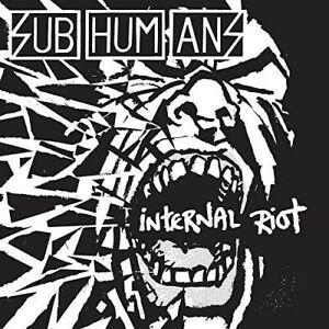 The Subhumans - Internal Riot [New CD]