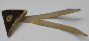 Exceptional-Trachtenknopf-Deer-Antler-With-Leather-Band-Probably-Um-1980-90