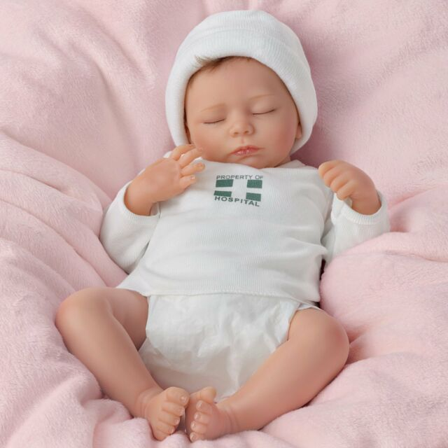 "Ashton Drake ""ASHLEY"" LIFELIKE BREATHING NEWBORN BABY GIRL ...