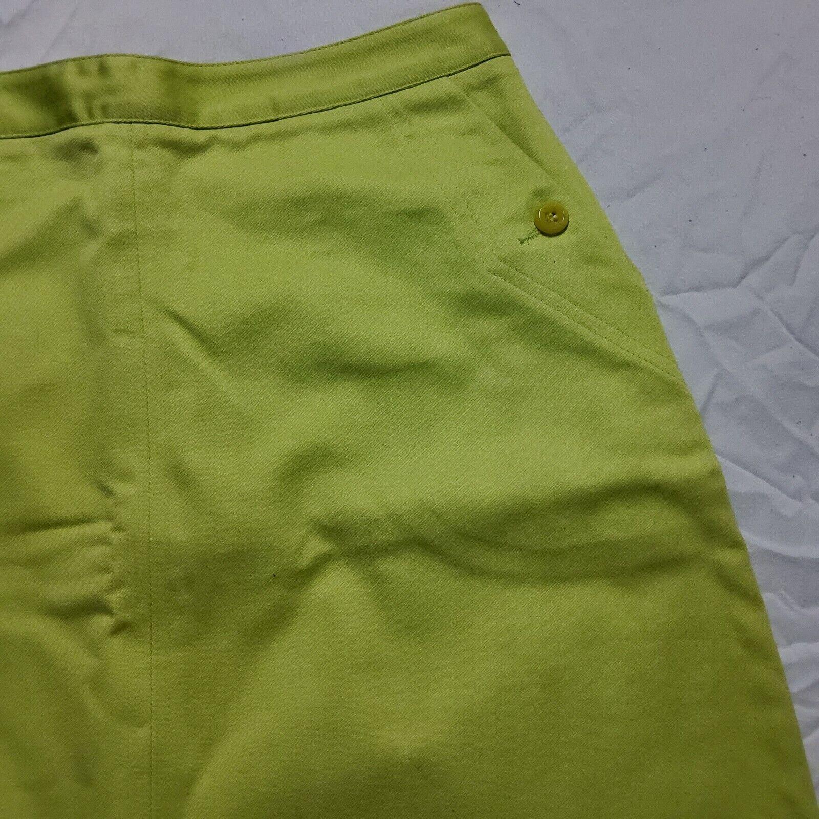 Esprit Neon Green Skirt - image 2
