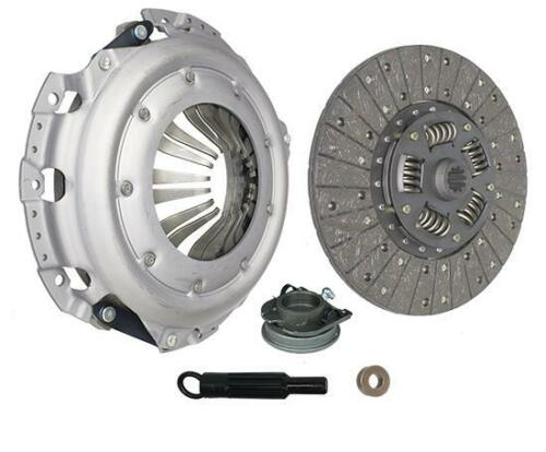 HD Clutch Kit for 63-76 Ford Custom E-250 F-100 3.9 4.9 5.0 5.8 6.4L 11in L8 OHV