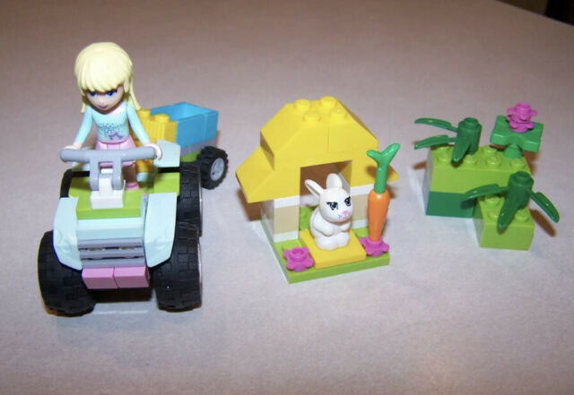 Lego Friends 3935 Stephanie's Pet Patrol 100% Complete with Instructions!