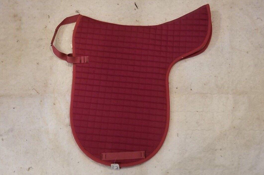 Kieffer Schabrak Katoen Blanket Liner Dark Maroon Bordeaux Horse Saddle Pad