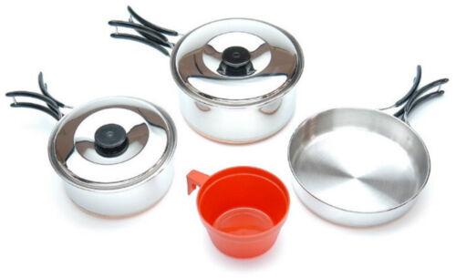 A partir de 1 piezas utensilios persona 6 piezas de acero inoxidable utensilios de camping utensilios de cocina Outdoor
