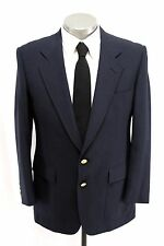 mens navy HART SCHAFFNER MARX blazer jacket JACK NICKLAUS sport coat 42 R S