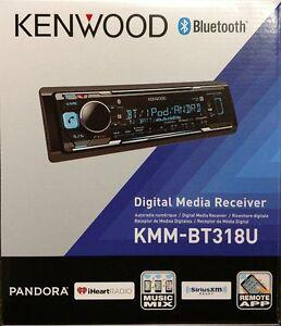 Kenwood-KMM-BT318U-Digital-Media-Receiver-AUX-USB-BT-SiriusXM