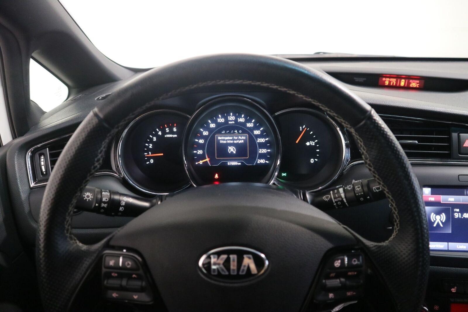 Kia Ceed 1,6 CRDi 136 GT-Line Limited SW - billede 7