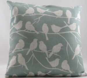 Duck-Egg-Blue-with-Printed-Birds-on-Trees-Evans-Lichfield-Cushion-Cover
