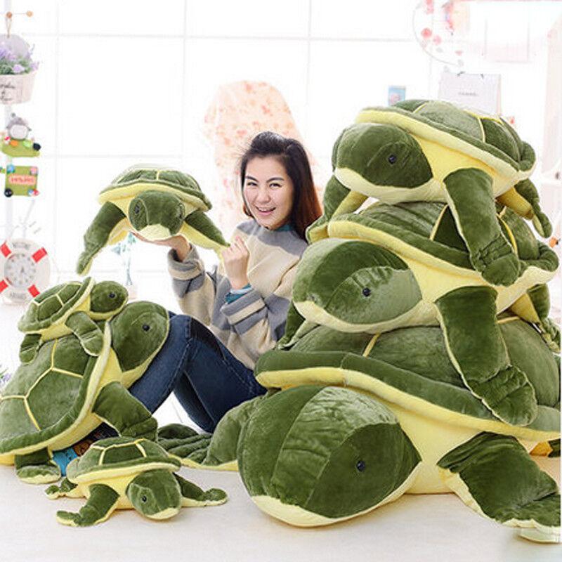 59 Giant Huge Big Plush Tortoise Turtle Stuffed Animal Soft Toys