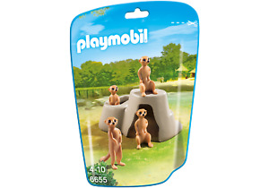 Playmobil 6655 City Life Meerkats  (Farm & Animals) for 3-4 Years, 5-7 Years