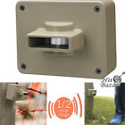 Wireless Driveway Alarm System Motion Sensor Security Detector Alert Outdoor