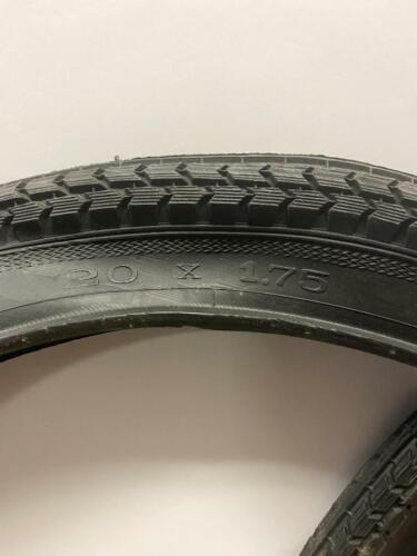 """1 PAIR nos 20 x 1.75/""""  bicycle Silver Star TIRES"""