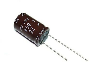 4 pack 68uf 400v 105c Nippon Chemi-Con KMX Series Tube Amp Amplifier Capacitors