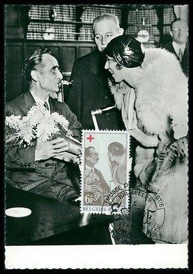 Stamps Considerate Belgien Mk 1968 Rotes Kreuz Red Cross Maximumkarte Carte Maximum Card Mc Cm An74