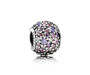 Authentic-Pandora-Charm-791261-S925-ALE-Pave-Lights-Red-CZ-Multi-Color-Bead
