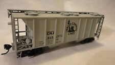 "HO SCALE ATLAS 2 BAY COVERED HOPPER JERSEY CENTRAL LINES ""CNJ # 800"""