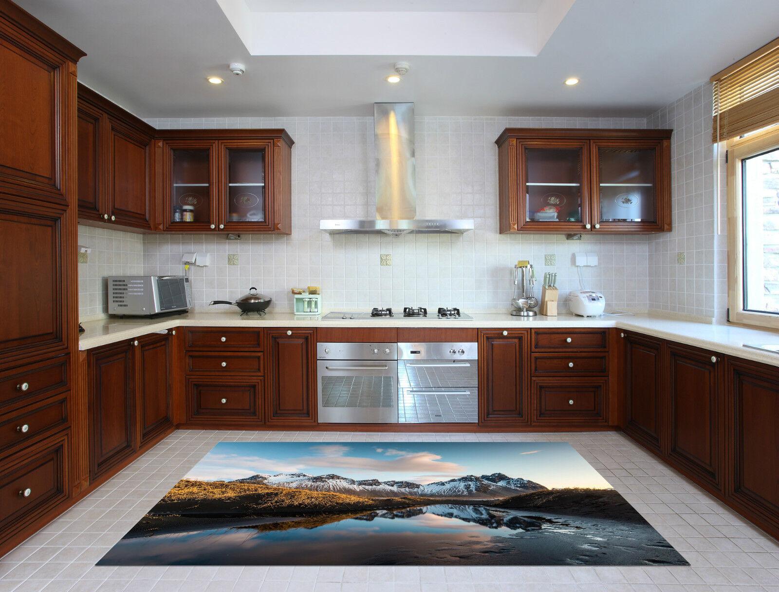 3D Neige De Montagne Lac 190 Décor Mural Murale De Mur De Neige Cuisine AJ WALLPAPER FR 44649b