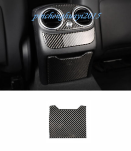Carbon Fiber Smoke Dust Ashtray Cover Trim For Benz C Class W205 GLC X253 15-19