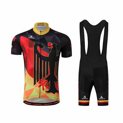 Miloto Deutschland Mannschaft Fahrradtrikot Und Shorts Tragerhose Radtrikot Set Ebay
