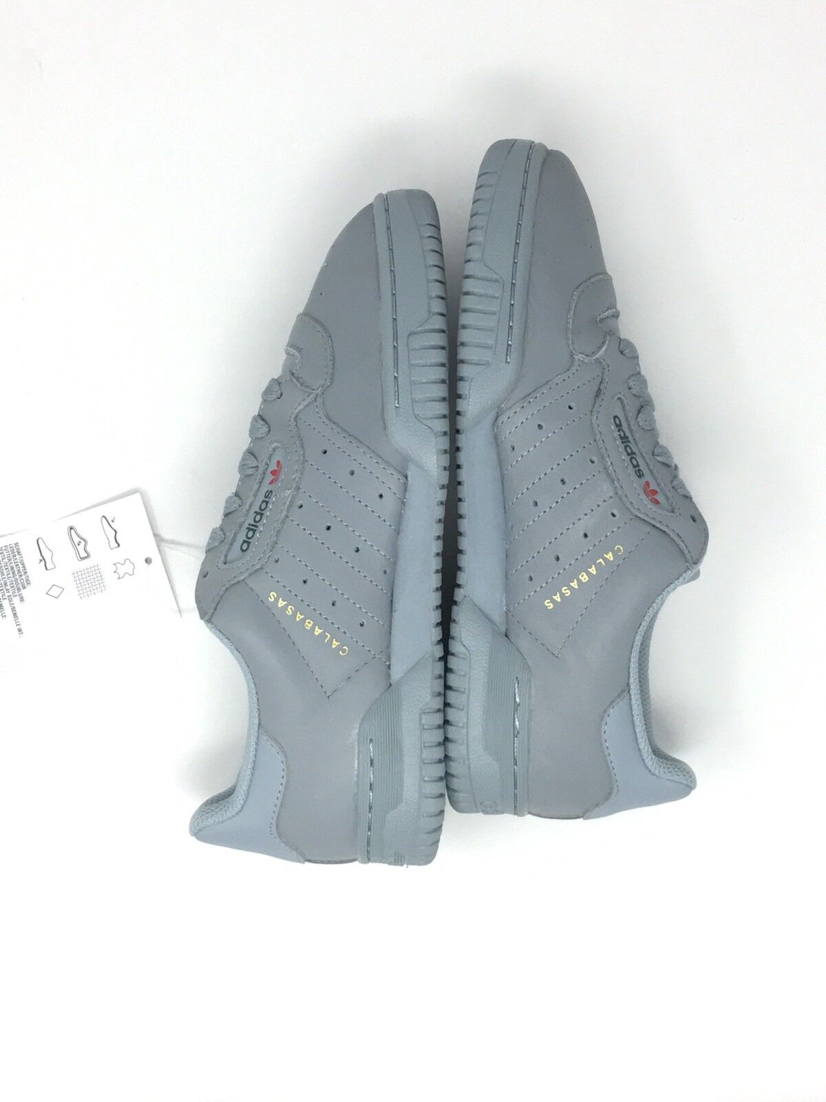 26b51f424238a ... Adidas Yeezy Calabasas Powerphase Grey size 5 NEW DS DS DS CG6422 d5e664