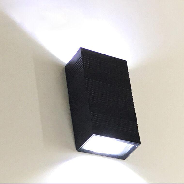 Lámpara al aire libre del LED COB Apliques De Parojo Lámpara Impermeable arriba abajo puerta de garaje