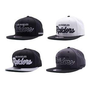 Los-Angeles-Raiders-LA-RAI-Vintage-Script-N-W-A-Snapback-NFL-Cap-Mitchell-Ness