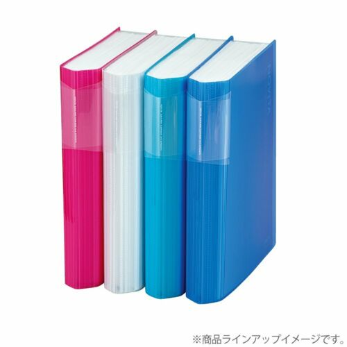 NEW Kokuyo NOViTA Clear book B5-S 20 pockets Excellent storage capacity
