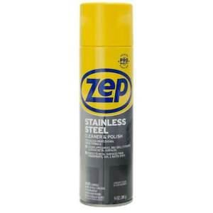 Zep 14-oz Stainless Steel Cleaner Specialized professional grade formula 🦾