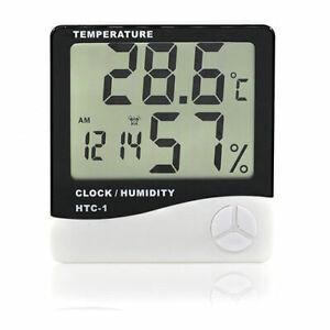 New-Digital-LCD-Temperature-Humidity-Meter-Clock-Indoor-Hygrometer-Thermometer