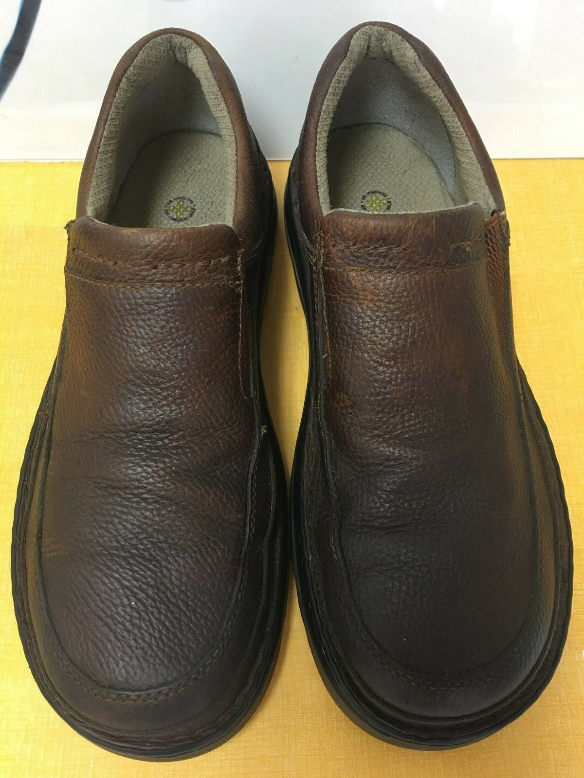 DR MARTENS Brown Leather,Air Cushion shoes UK10, USM11