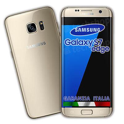 Samsung • GALAXY S7 EDGE • 32Gb GOLD • GARANZIA ITALIA Oro Dorato G935F NO BRAND