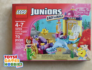 Lego Princess New Sealed Set 10723 Ariel/'s Dolphin Carriage Mermaid Disney