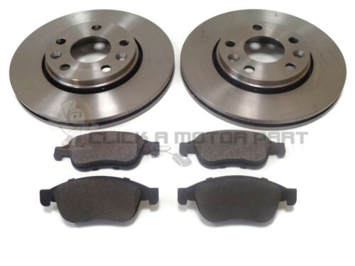 RENAULT SCENIC MK3 2012-2015 FRONT 2 BRAKE DISCS AND PADS SET 280MM CHECK SIZE