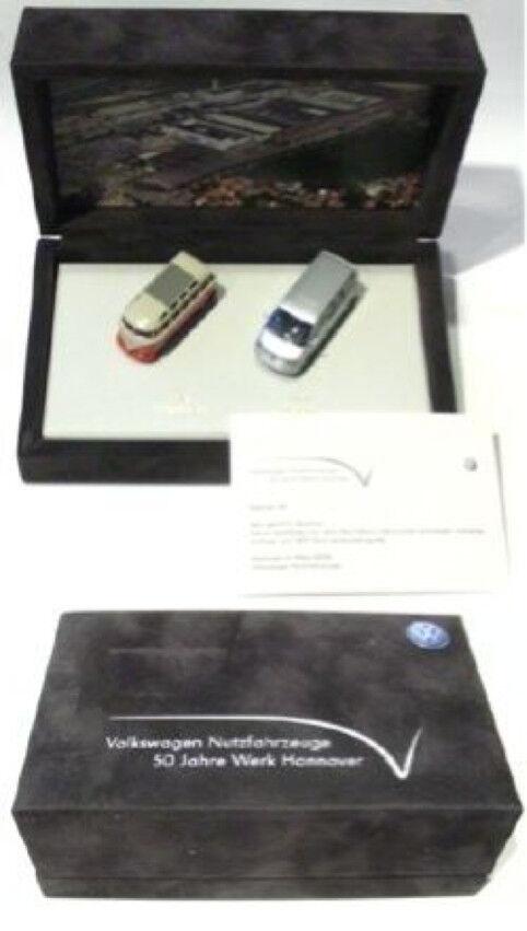 VW Bus T1 T5 - Set 1 87 - 50 Jahre - Samtbox - limitiert mit Zertifikat - NEU