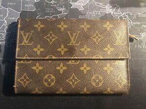 Authentic-Louis-Vuitton-LV-Monogram-LARGE-Wallet