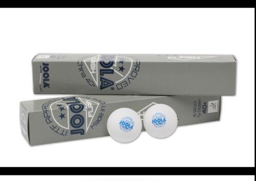table tennis ball 2box//lot 12pc JOOLA seamless New Material Plastic 3 star 40