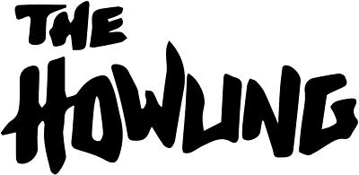 The Howling vinyl decal sticker horror 70/'s Logo fangoria