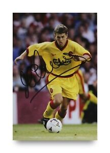 Michael-Owen-Signed-6x4-Photo-Liverpool-England-Manchester-United-Autograph-COA