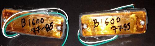 Mazda B1600 P//U pick up 1977-85 model fender turn signal marker light