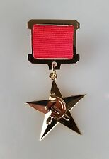 UdSSR Russland Orden Medaille Held der sozialistischen Arbeit