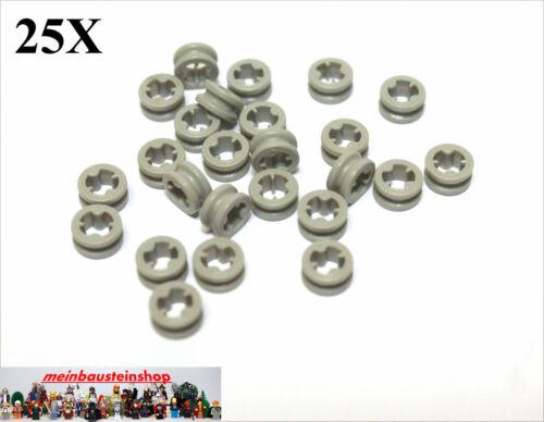 32123 Technic Stopper Buchse Bush altes Hellgrau Light Gray 25X Lego® 4265c