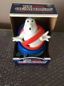 Millésime 1987 Le Real Ghostbusters Gumball Machine / Tirelire Neuf Supérieur